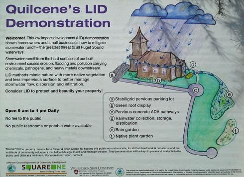 LID garden signage